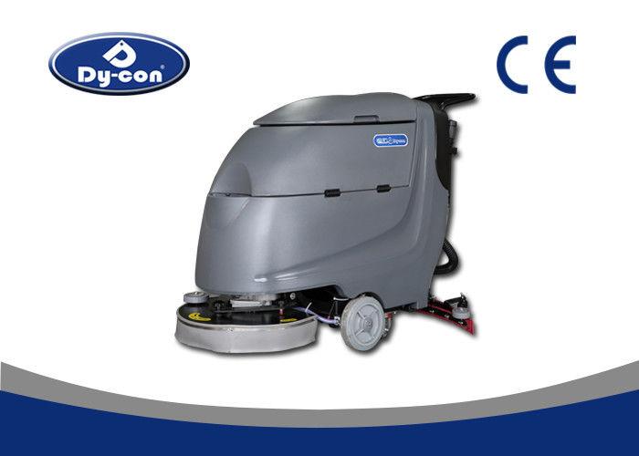 Black color hard surface floor scrubber washing machine for Floor washing machine