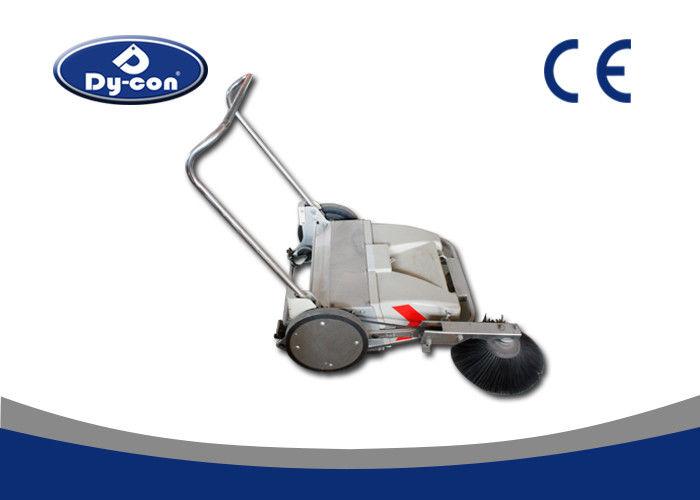 Electric Industrial Manual Push Vacuum Floor Sweeper For