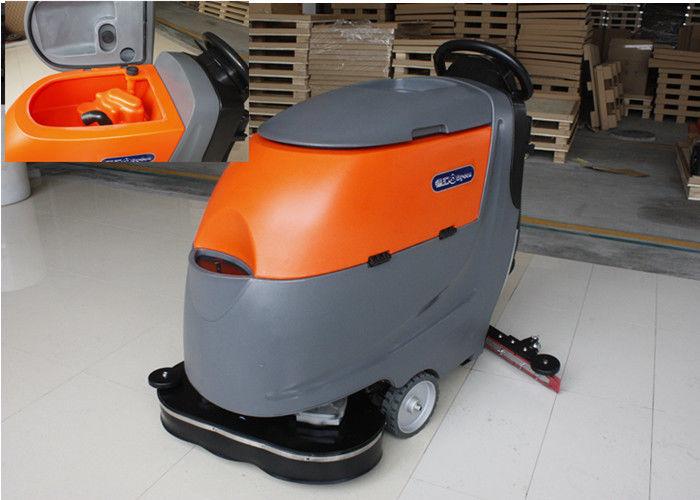 Dual Brushes Industrial Tile Floor Cleaning Machines Ametek Suction
