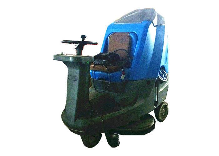 High Tech Ride On Floor Scrubber Dryer Wet Floor Cleaner