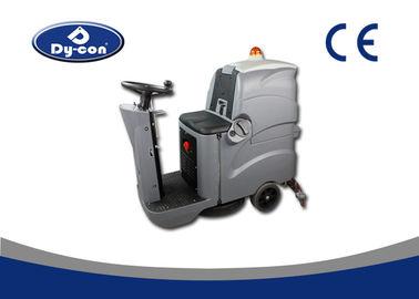 Ride On Driving Industrial Floor Cleaning Equipment , Industrial Floor  Scrubber Machine